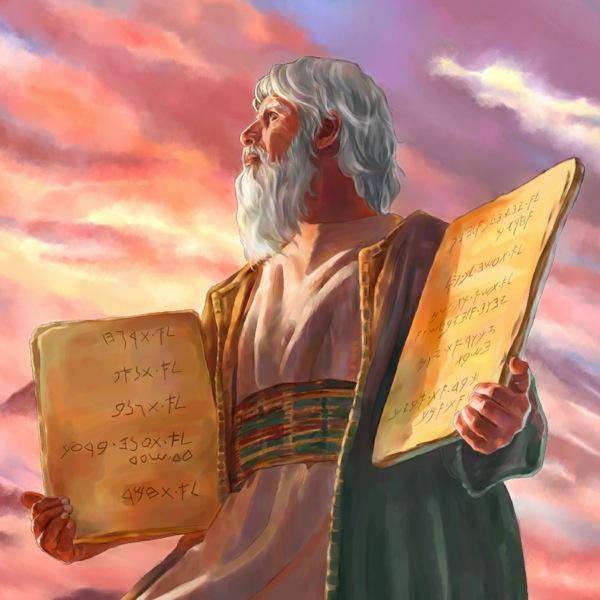Os 10 Mandamentos: Moisés.